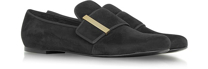 Black Suede Slipper - See by Chloé