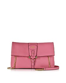 Pink Leather Clutch - Hogan