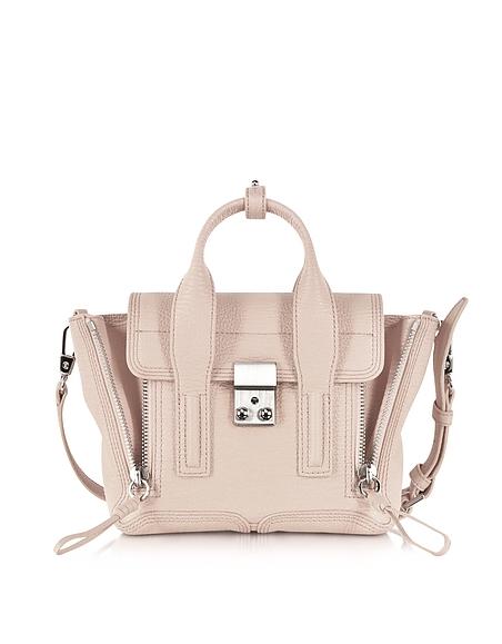 a52912475a40ad 3.1 Phillip Lim Feather Leather Pashli Mini Satchel Bag