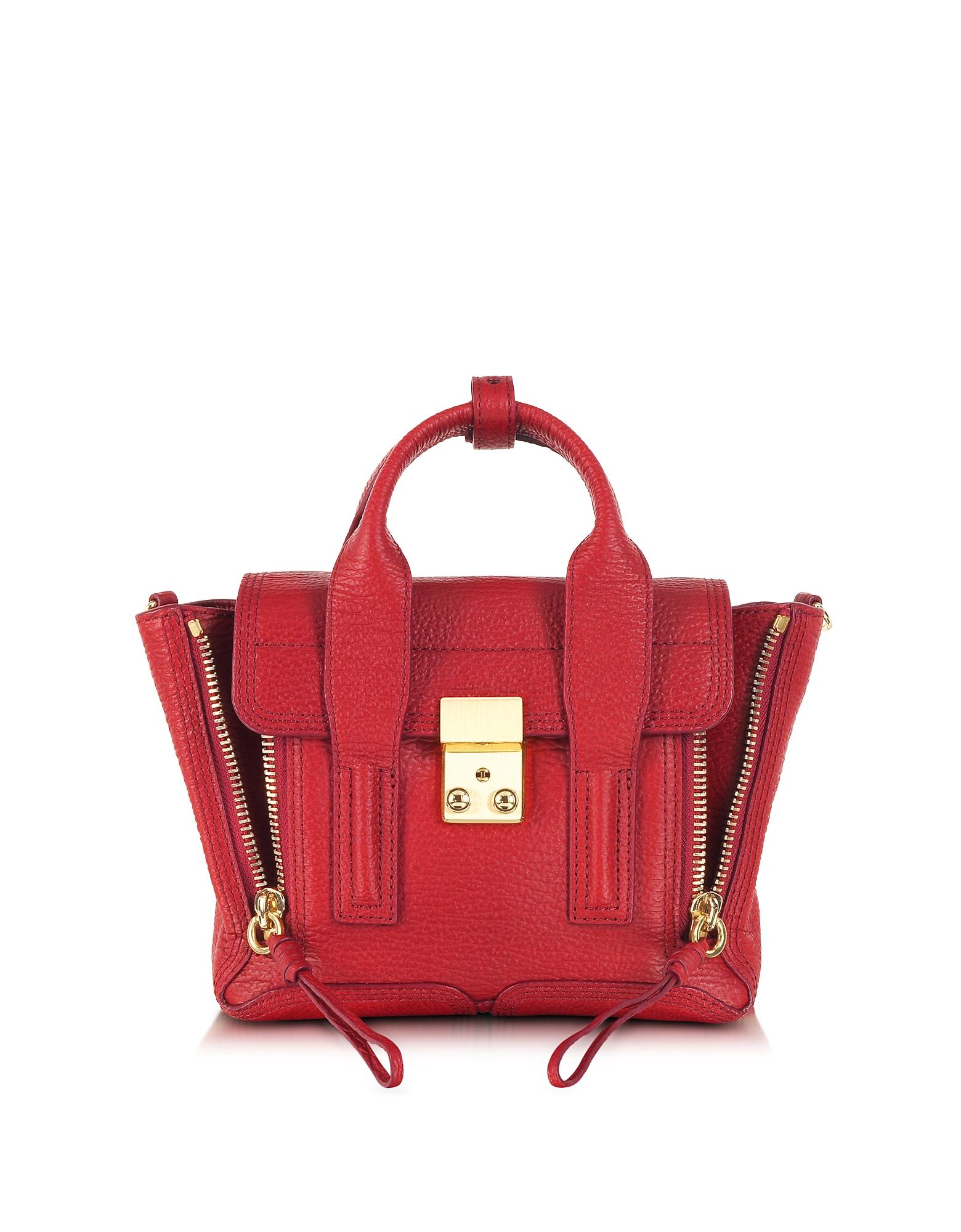 Red Pashli Mini Satchel
