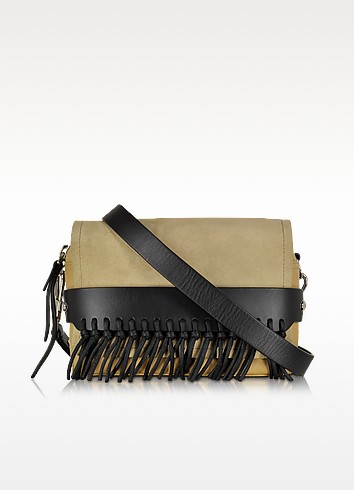 Bianca Small Almond-Beige Flap Crossbody With Fringe - 3.1 Phillip Lim