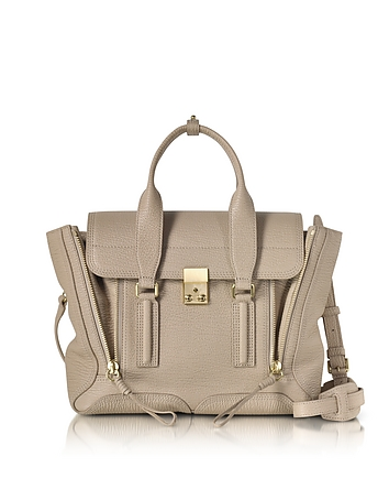 3.1 Phillip Lim - Pashli Cashew Leather Medium Satchel