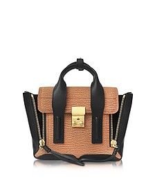 Pashli Maple and Black Leather Mini Satchel - 3.1 Phillip Lim