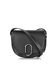 Alix Black Leather Saddle Crossbody - 3.1 Phillip Lim