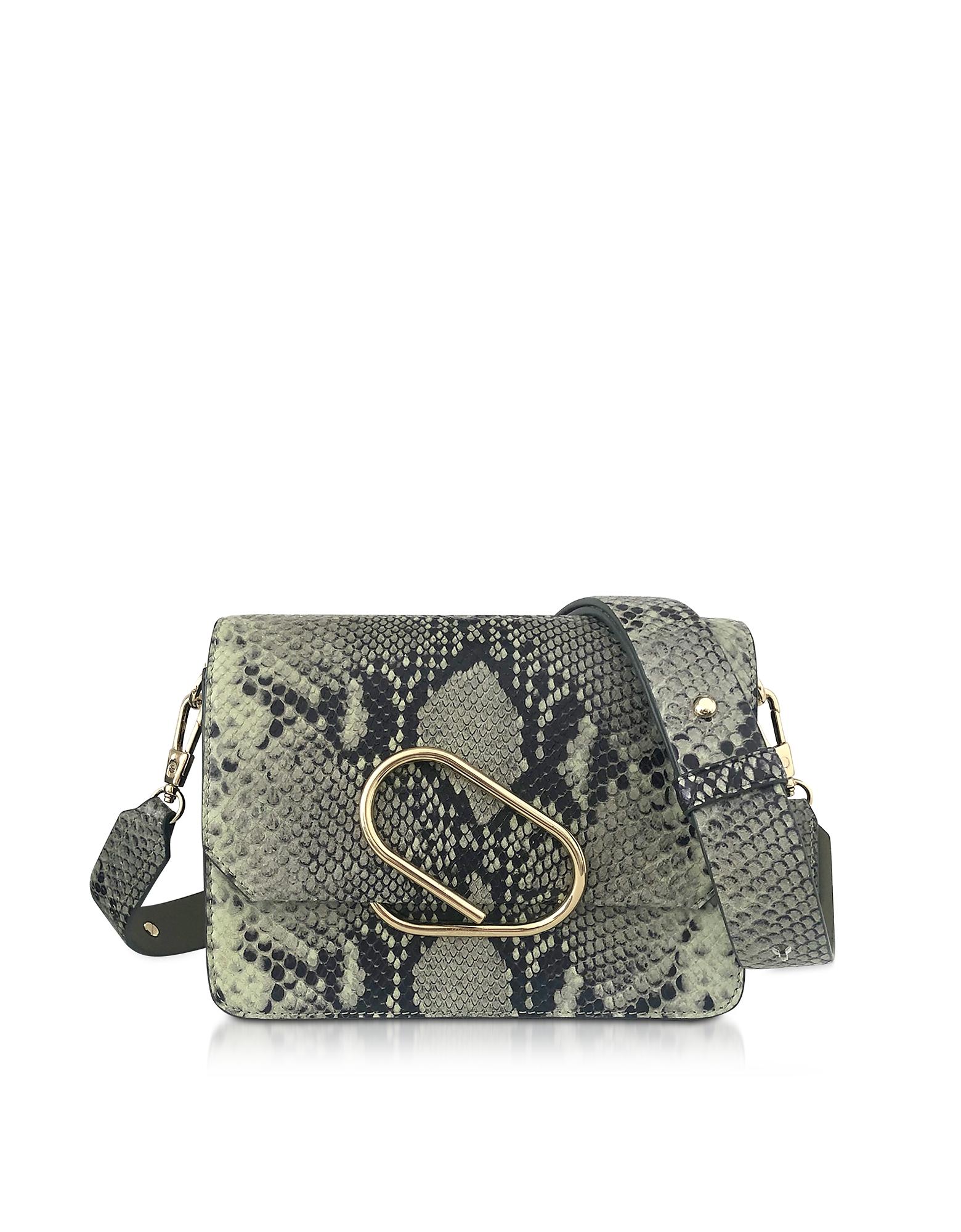 3.1 Phillip Lim  Handbags Animal Printed Leather Alix Mini Shoulder Bag