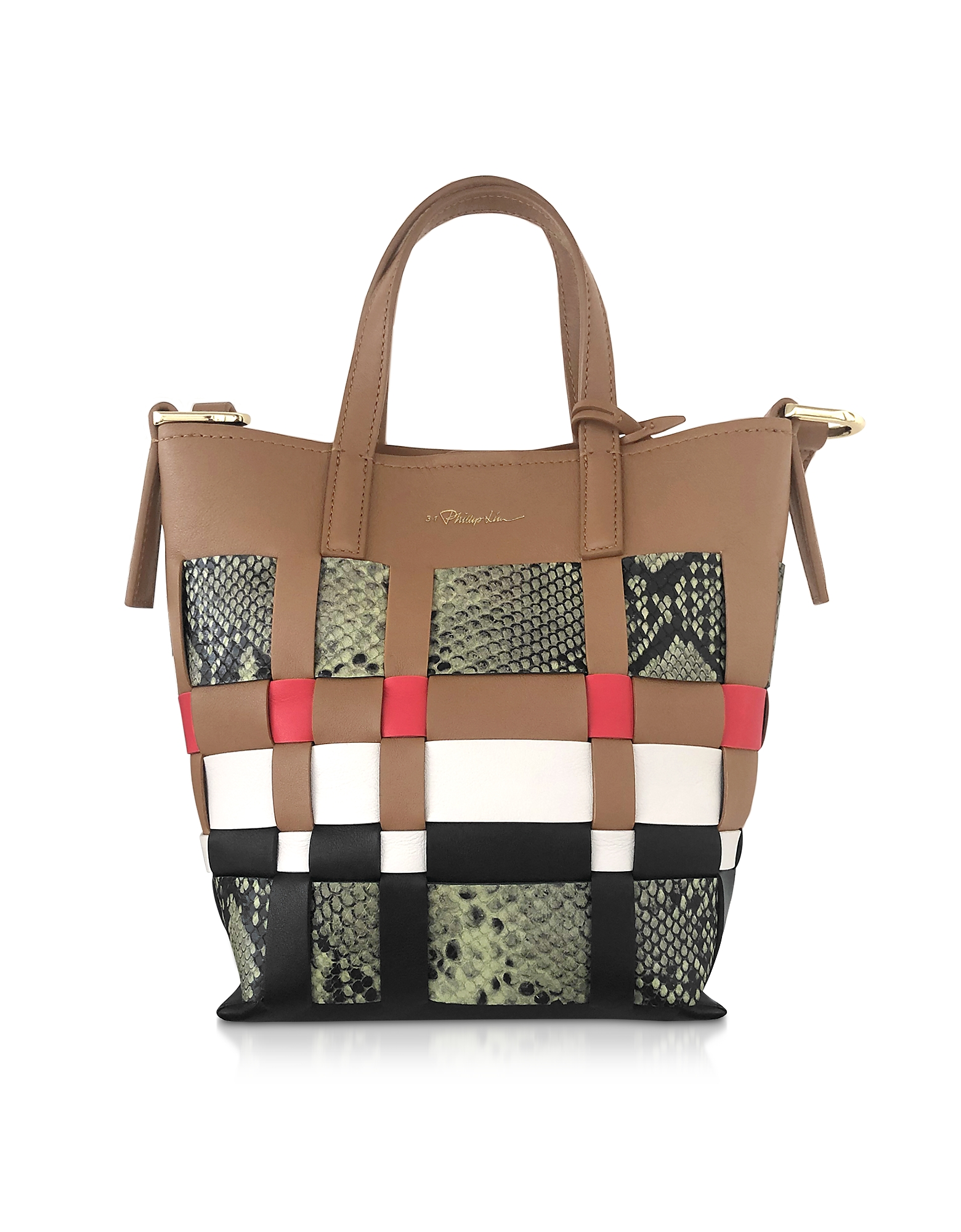 3.1 Phillip Lim  Handbags Odita Mini Modern Lattice Bucket Bag