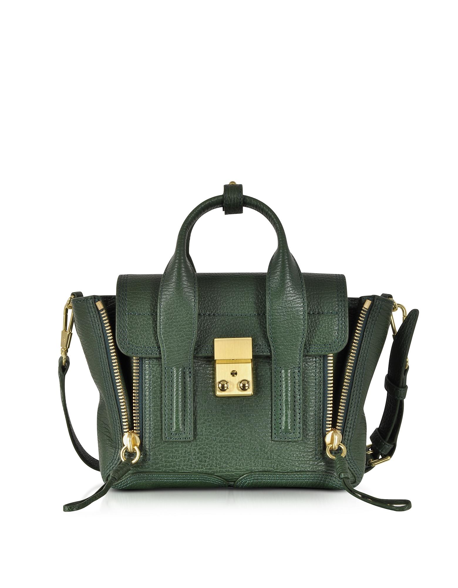 3.1 Phillip Lim Handbags, Pashli Mini Satchel w/Shoulder Strap