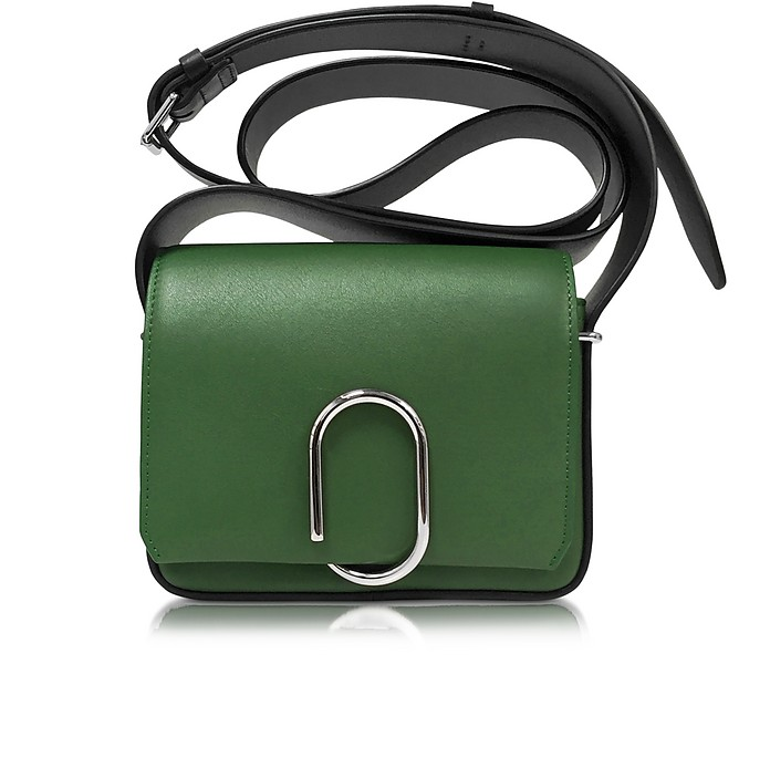 Alix Grass & Black Flap Mini Crossbody - 3.1 Phillip Lim