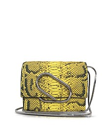 Alix Lemon Anaconda Print Leather Micro Crossbody Bag - 3.1 Phillip Lim