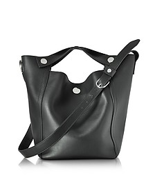 Dolly Black Leather Large Tote - 3.1 Phillip Lim