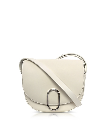 3.1 Phillip Lim - Alix Off White Leather Saddle Crossbody Bag