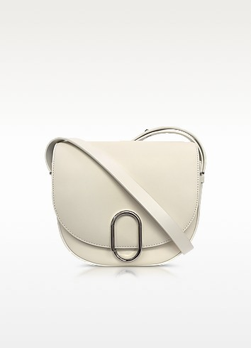 Alix Off White Leather Saddle Crossbody Bag  - 3.1 Phillip Lim