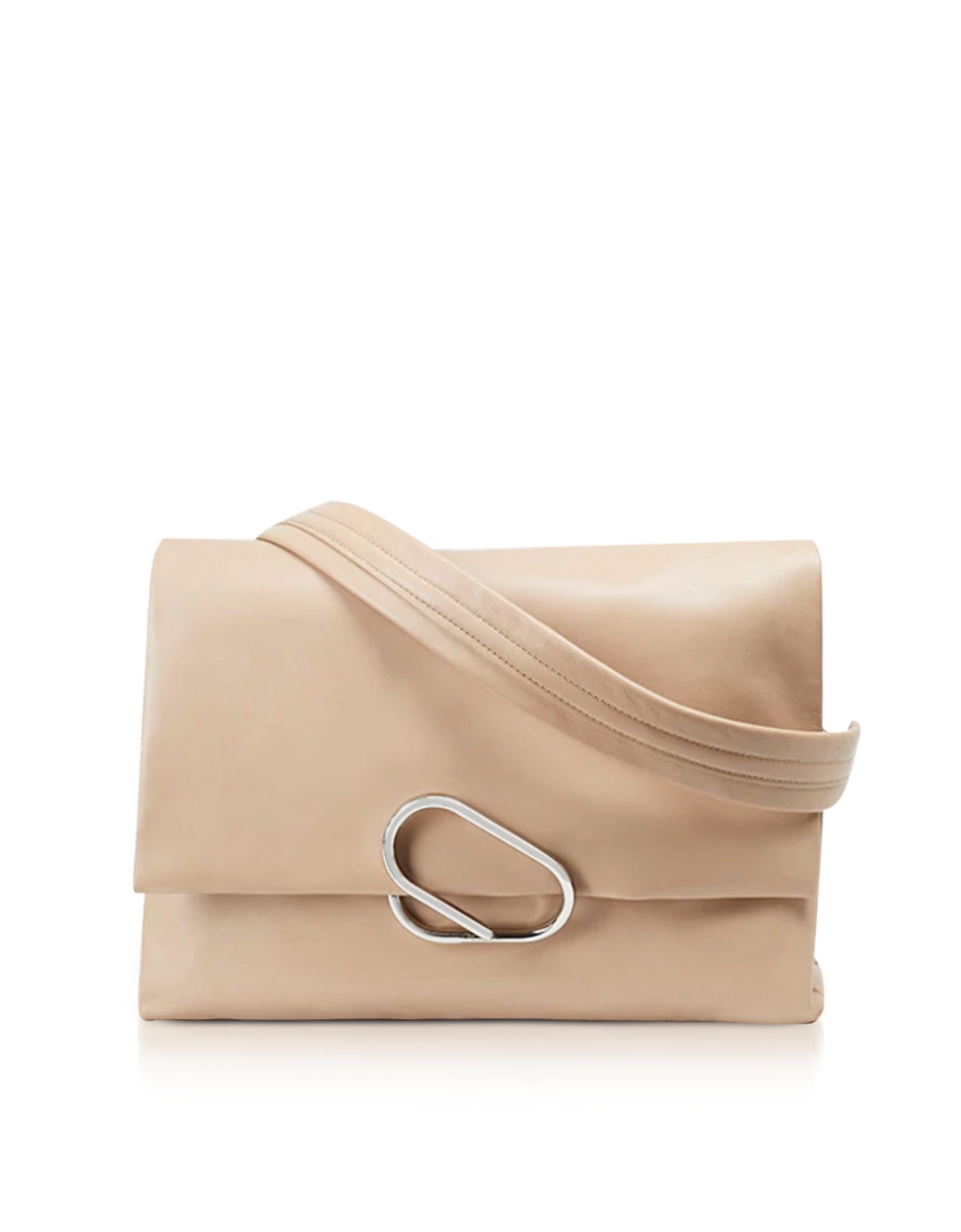 3.1 Phillip Lim Handbags, Alix Oversized Fawn Leather Shoulder Bag