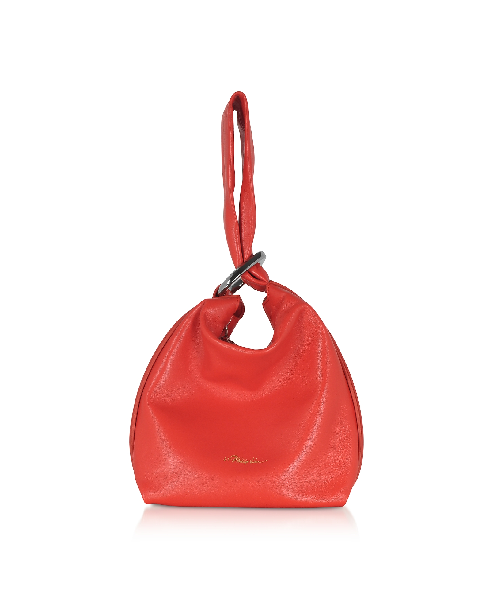 Ines Soft Triangle Pouch, Red