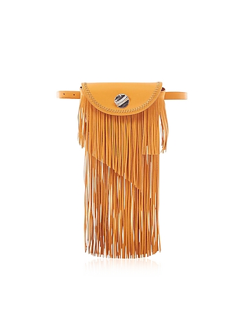 Hudson Sunglasses Case Crossbody Bag w/Fringe