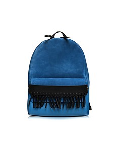 Bianca Adriatic Blue Mini Backpack w/Fringe - 3.1 Phillip Lim