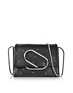 3.1 Phillip Lim Alix Black Leather Micro Crossbody Bag hp130317-027-00