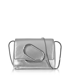 Alix Silver Leather Micro Crossbody Bag - 3.1 Phillip Lim