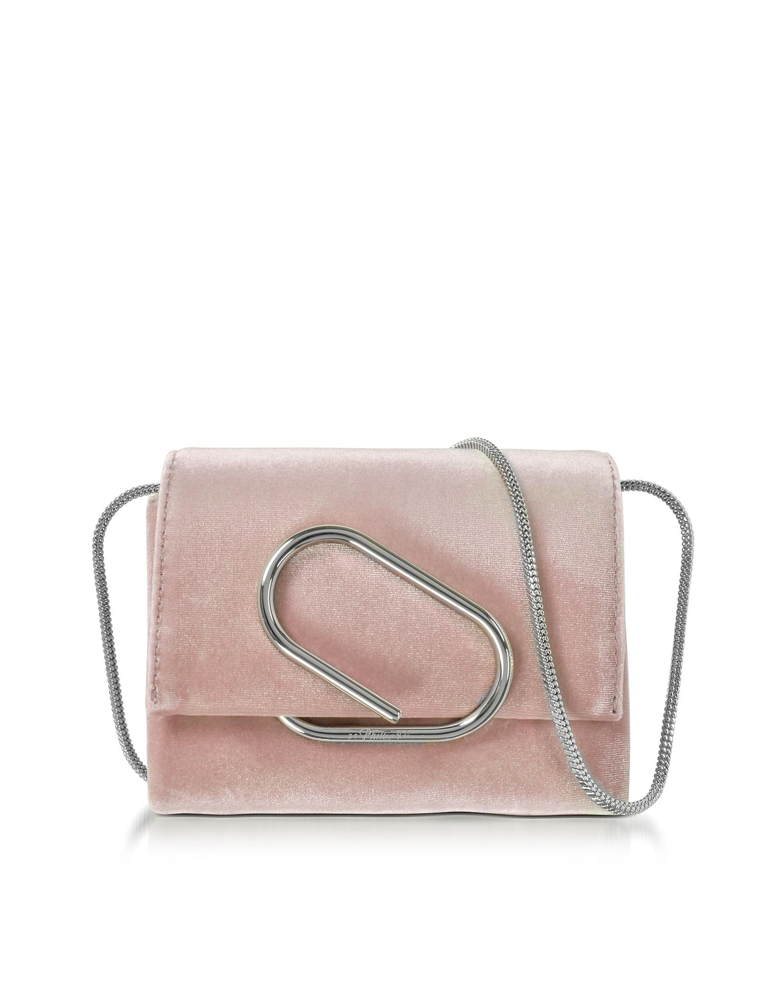 Фото Alix - Маленькая Светло-розовая Сумка Через Плечо. Купить с доставкой