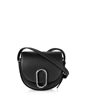 3.1 Phillip Lim - Alix Black Leather Mini Saddle Crossbody Bag