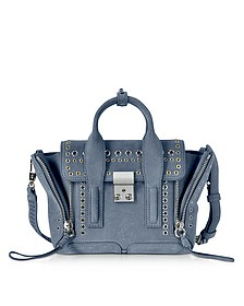 Pashli Ash Blue Leather Mini Satchel Bag - 3.1 Phillip Lim