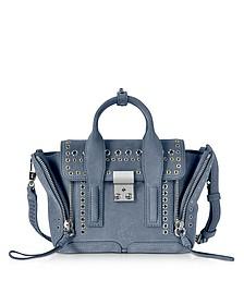 Pashli Ash Blue Leather Mini Satchel Bag - 3.1 Phillip Lim