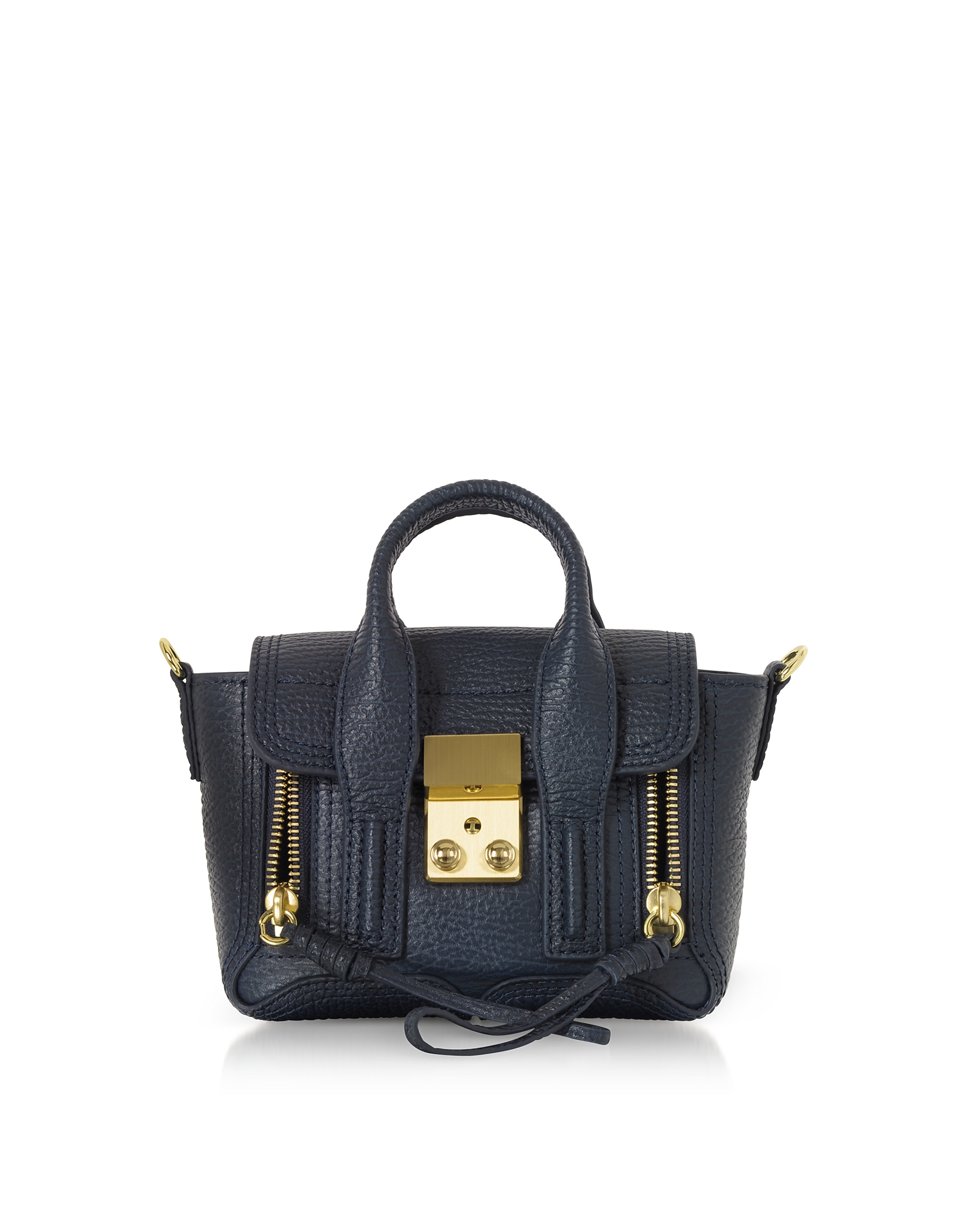 Ink Leather Pashli Nano Satchel Bag