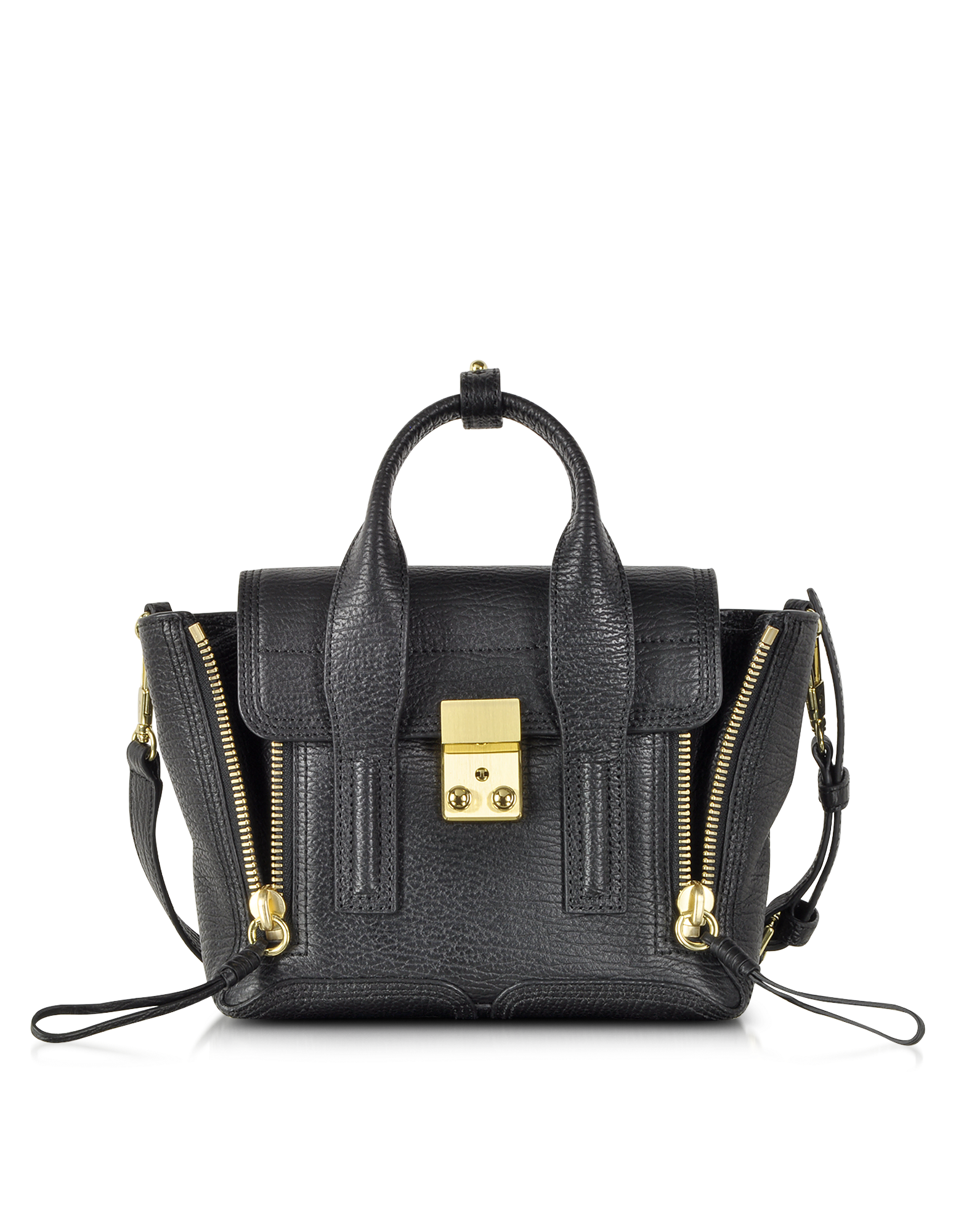 Image of Black Pashli Mini Satchel