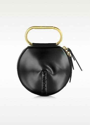 Black Leather Alix Circle Clutch - 3.1 Phillip Lim
