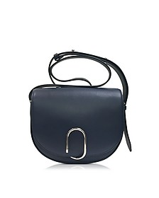 Alix Navy Leather Saddle Crossbody Bag - 3.1 Phillip Lim