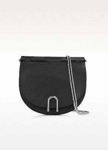 Hana Black Leather Saddle Chain Bag - 3.1 Phillip Lim
