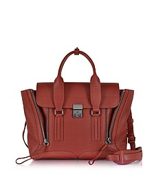 Pashli Brick Leather Medium Satchel - 3.1 Phillip Lim