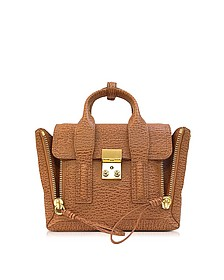 Pashli Caramel and Cognac Leather Mini Satchel - 3.1 Phillip Lim