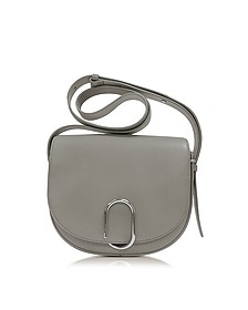 Alix Cement Leather Saddle Crossbody Bag - 3.1 Phillip Lim