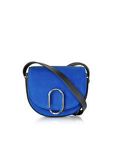 Electric Alix Mini Satteltasche aus Wildleder in blau - 3.1 Phillip Lim