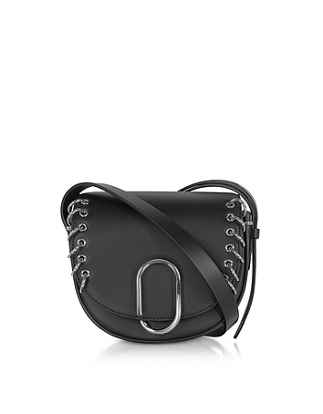 3.1 Phillip Lim - Black Alix Mini Crossbody Bag w/Metal Rings