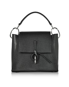 Black Leigh Top Handle Satchel Bag - 3.1 Phillip Lim
