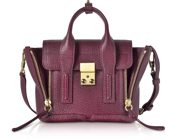 3 1 Phillip Lim Aubergine Pashli Mini Satchel Bag