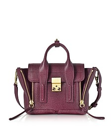 Aubergine Pashli Mini Satchel Bag - 3.1 Phillip Lim