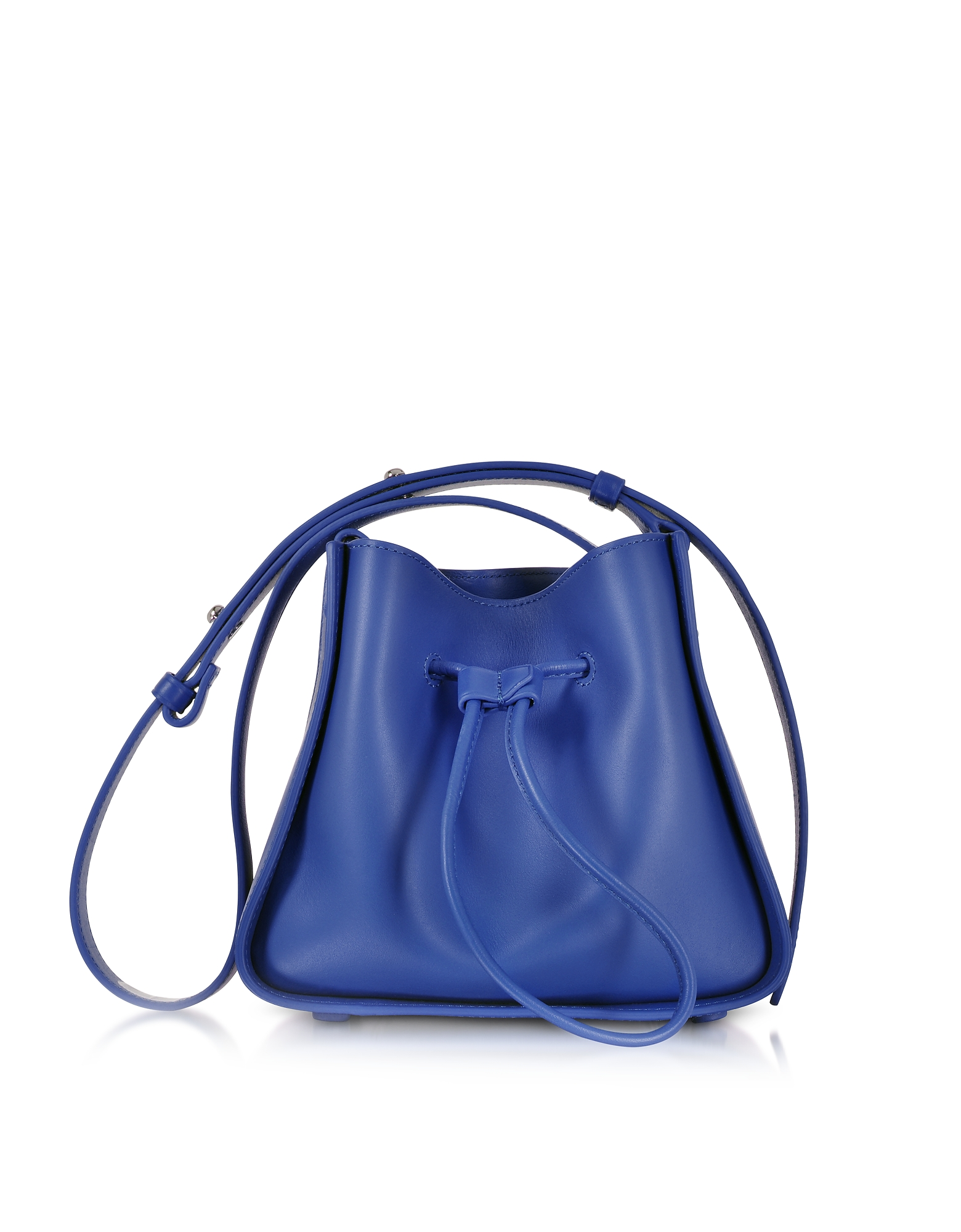 3.1 Phillip Lim Handbags, Cobalt Blue Soleil Mini Drawstring Bucket Bag