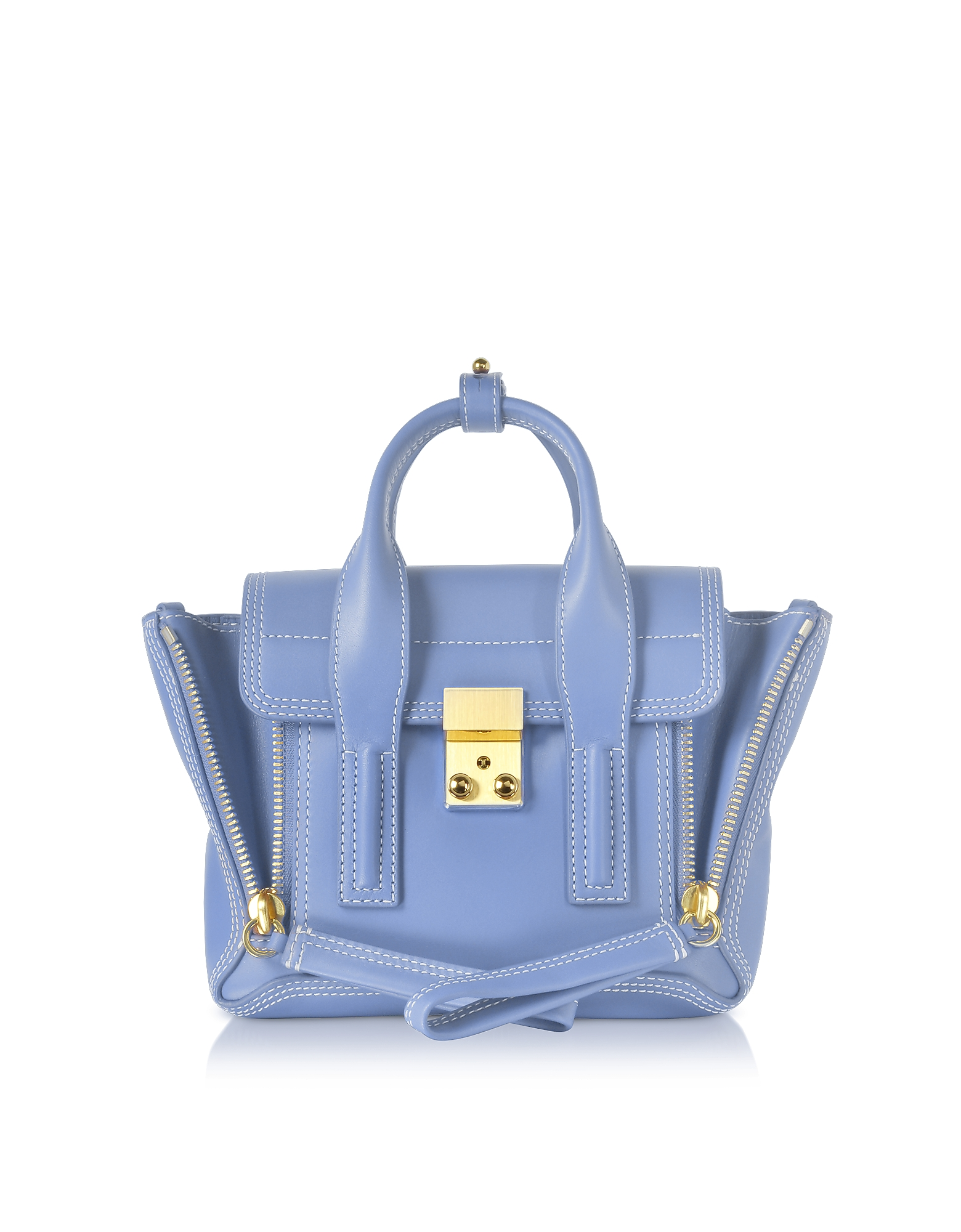 Chambray Pashli Mini Satchel Bag