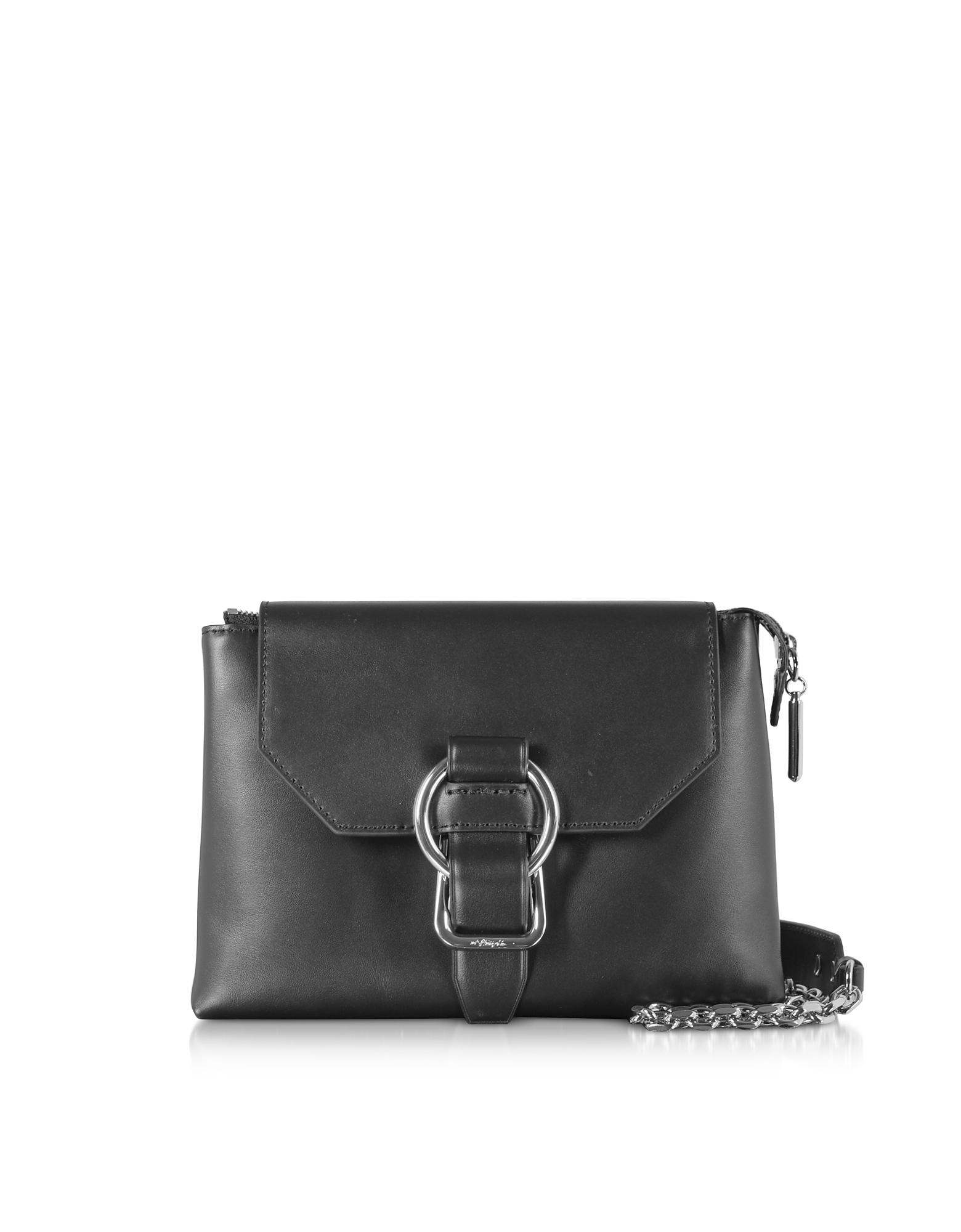 Black Charlotte Soft Crossbody Bag