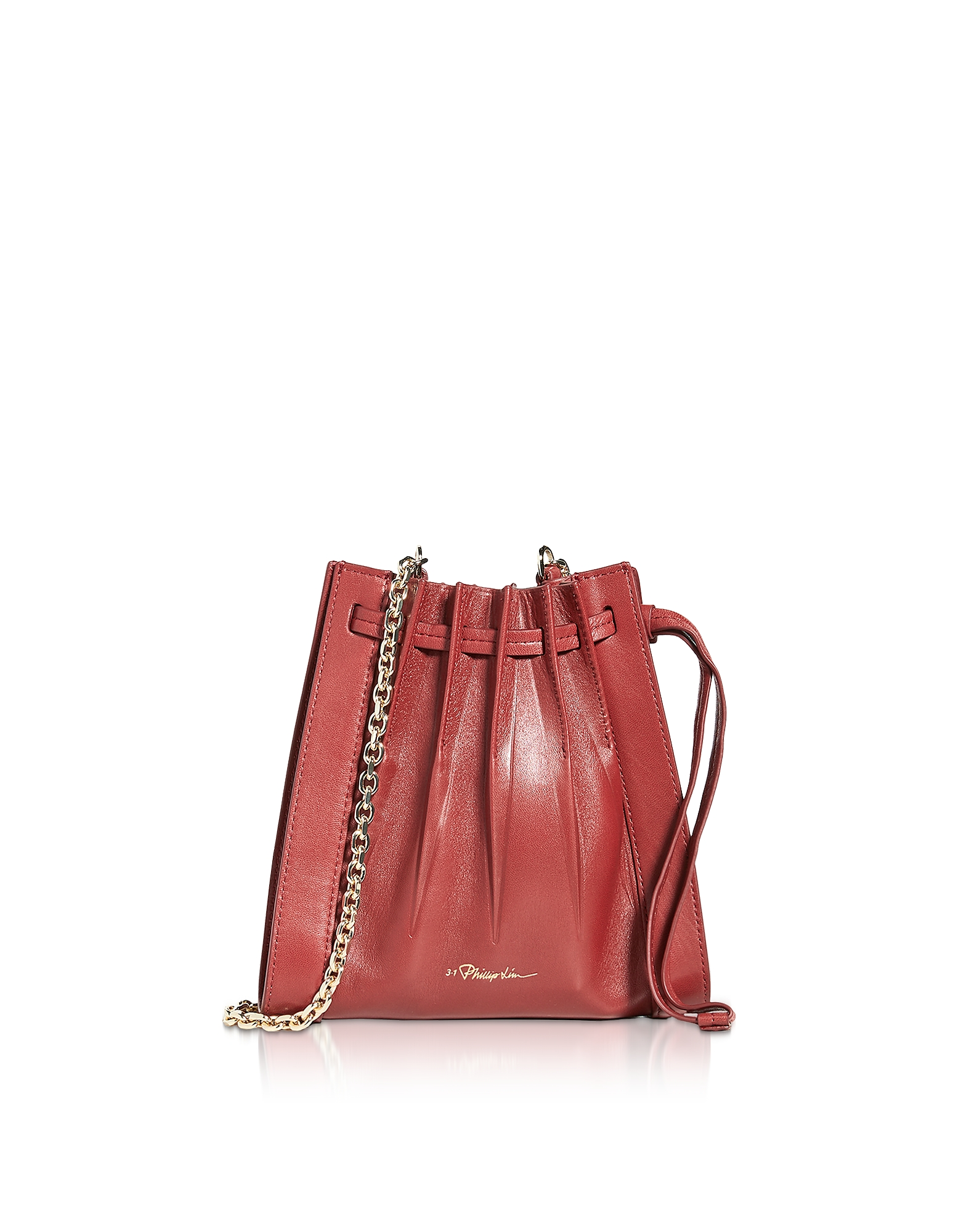 Florence Mini Pleated Drawstring Tote Bag