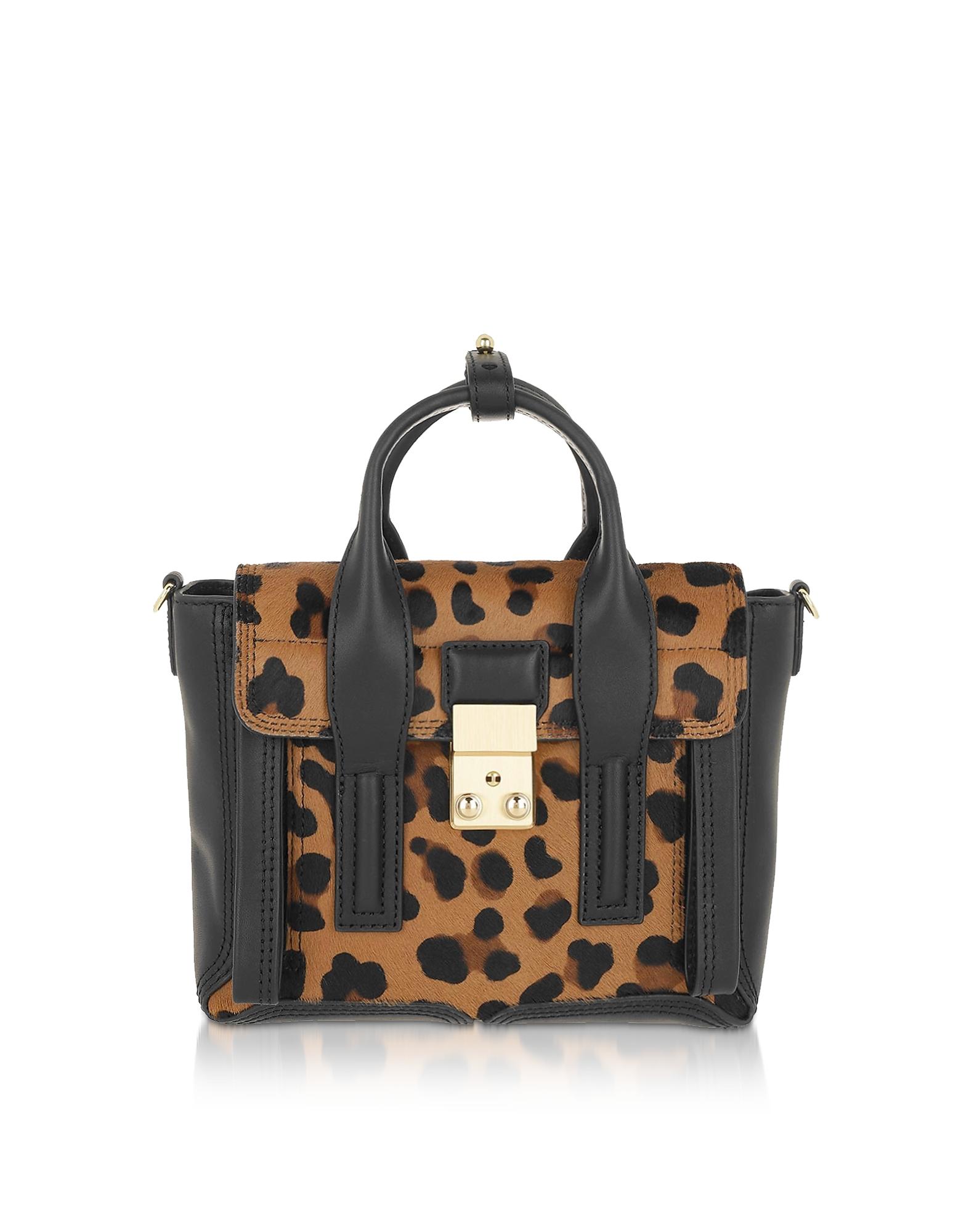3.1 Phillip Lim  Handbags Leopard Pashli Mini Satchel