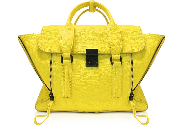 Electric Yellow Pashli Medium Satchel - 3.1 Phillip Lim
