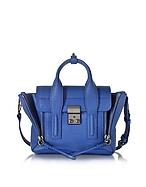 3.1 Phillip Lim Pashli Mini Borsa in Pelle Blu Cobalto - 3.1 phillip lim - it.forzieri.com