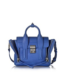 Cobalt Blue Leather Pashli Mini Satchel - 3.1 Phillip Lim