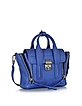Cobalt Blue Leather Pashli Mini Satchel - 3.1 Phillip Lim