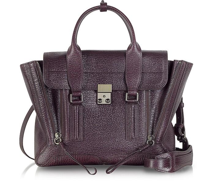 Burgundy Leather Pashli Medium Satchel - 3.1 Phillip Lim