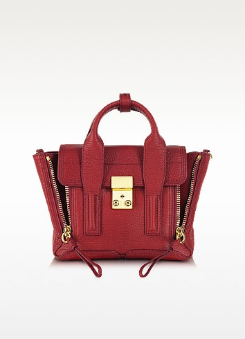 Crimson Leather Pashli Mini Satchel - 3.1 Phillip Lim